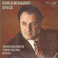 Carlo Bergonzi - sings Arias and Duets from italian Opera